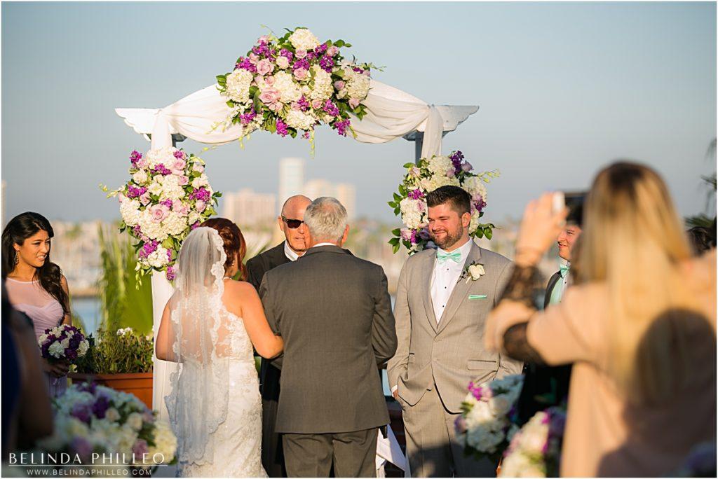 the reef restaurant long beach wedding