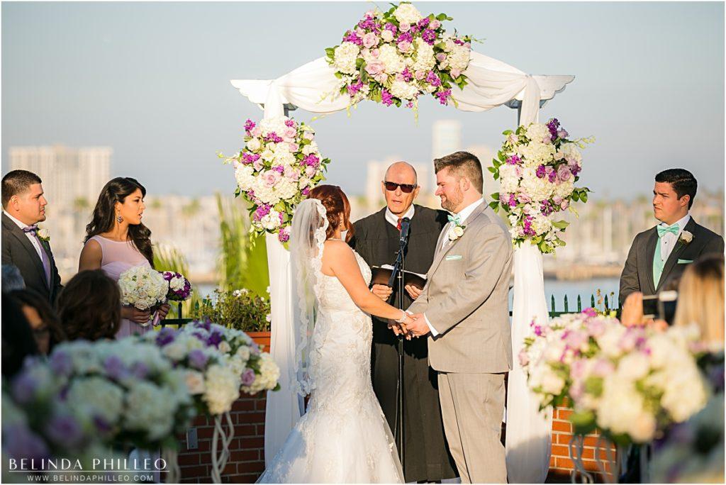 The Reef Restaurant wedding Long beach, CA
