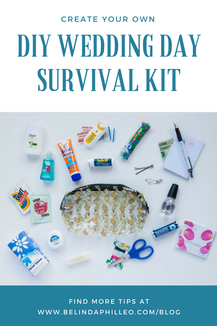 Wedding Day Emergency Kit.Diy Create Your Own Wedding Day Emergency Kit