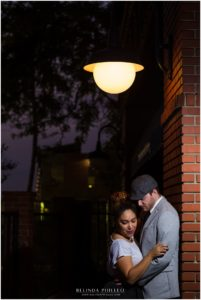 Vintage Engagement shoot, Downtown Fullerton. Photographed by Belinda Philleo
