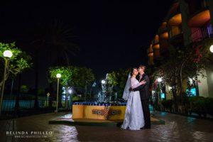 Wedding at Best Western Golden Sails Long Beach, CA. Photos by Belinda Philleo
