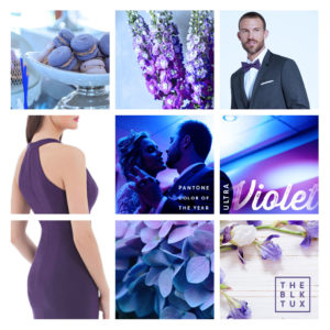 Pantone Color of The Year 2018 Ultra Violet Wedding Inspiration