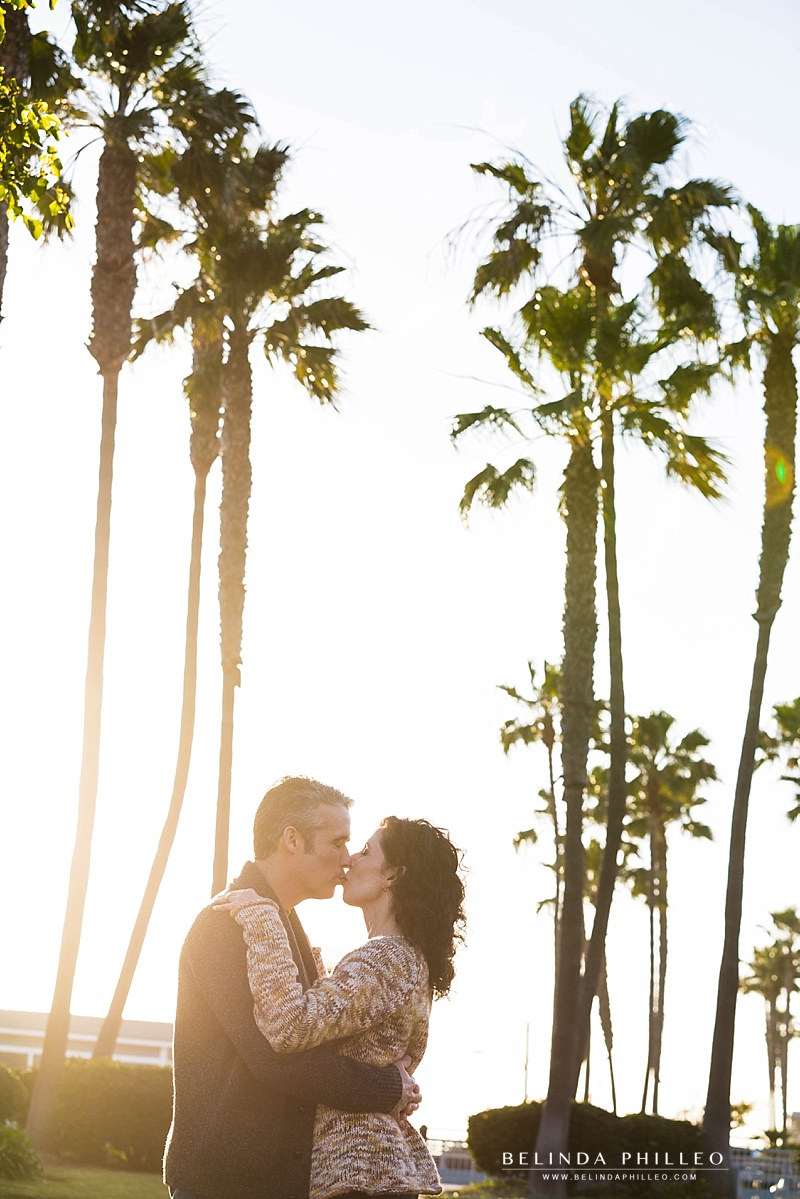 Anniversary photos in Seal Beach, CA by Orange County Photographer Belinda Philleo