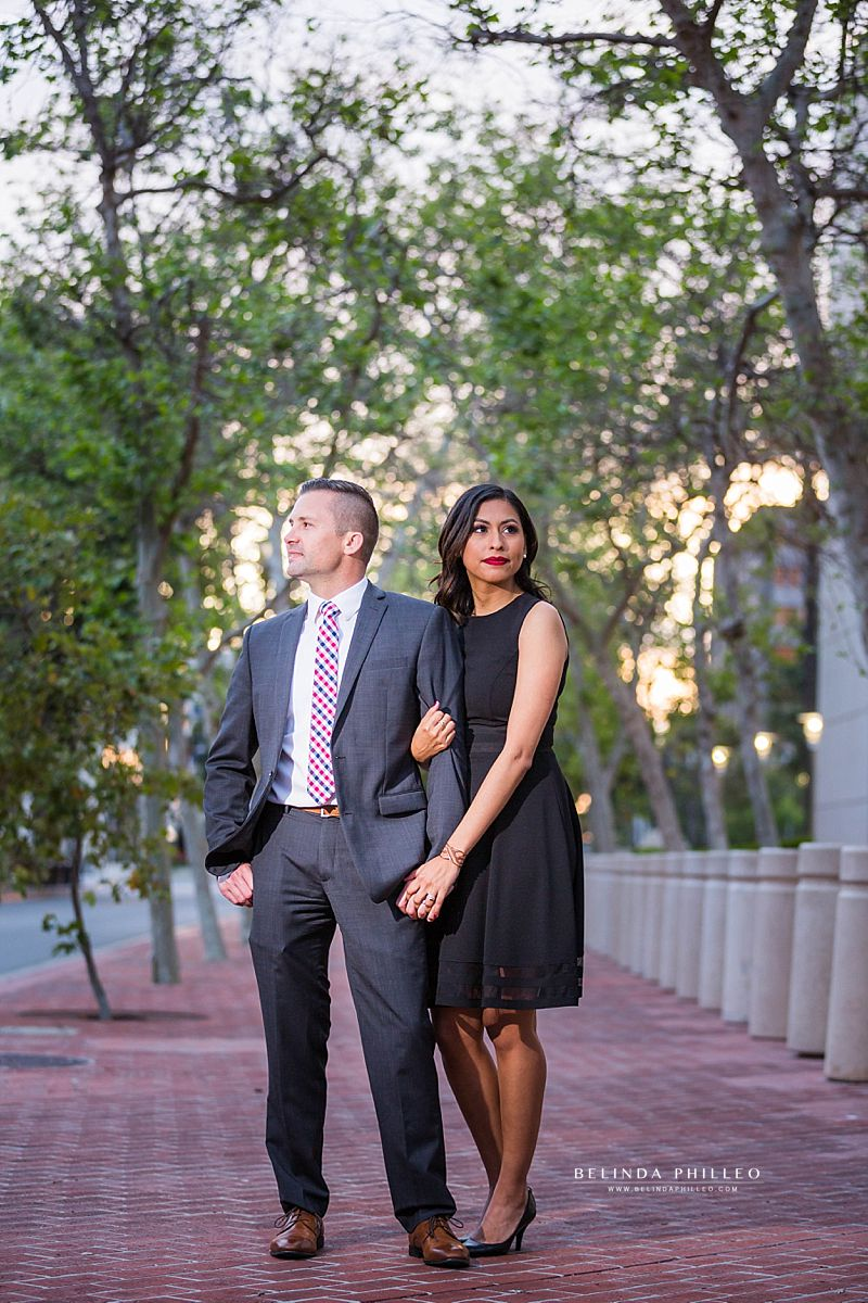 Downtown Santa Ana Engagement Pictures