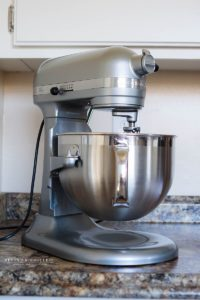 Silver Kitchen-aid professional series with 6 quart bowl