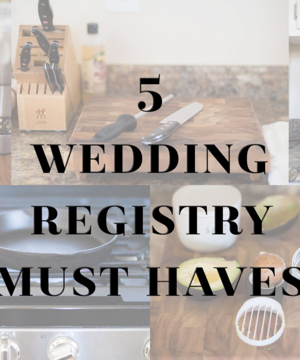 Wedding registry items I wish I had put on my list