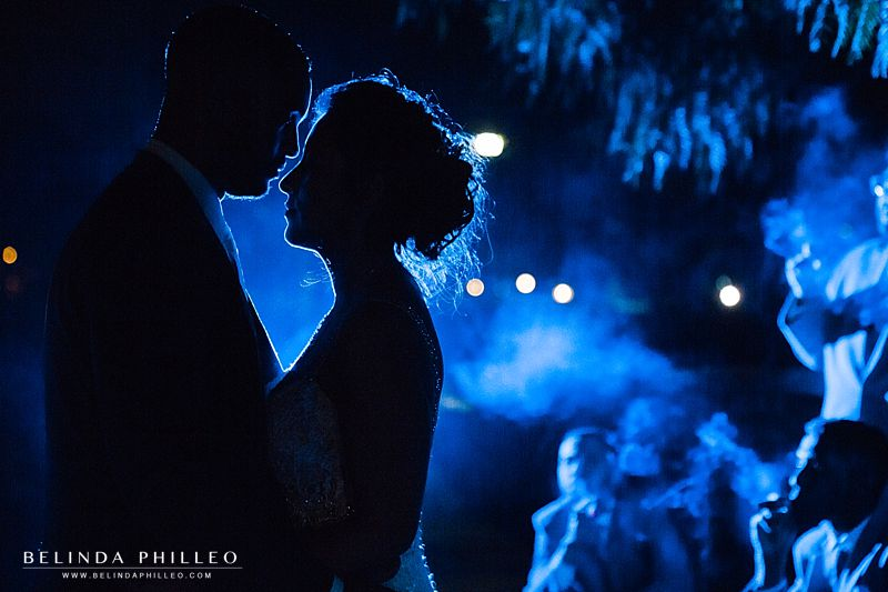Romantic and smoky wedding photos at Casa De Lago Wedding in Orange CA
