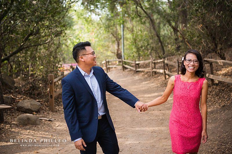 Oak Canyon Nature Center engagement photos by Belinda Philleo