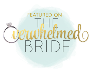 Featured on The Overwhelmed Bride