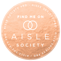 Featured on Aisle Society Badge