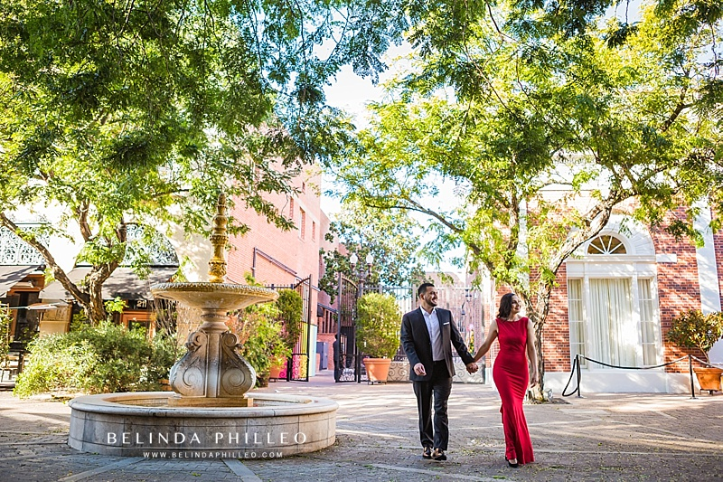 Orange County Engagement photography in Downtown Santa Ana, CA