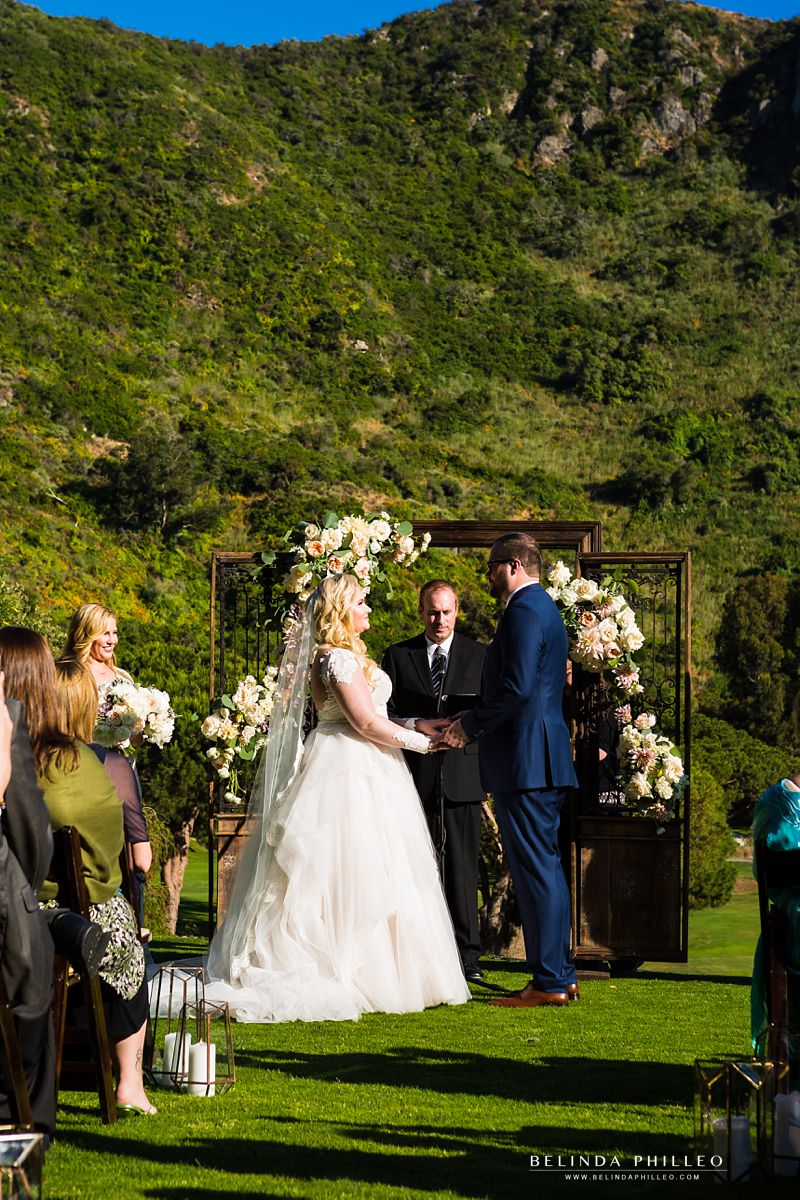 Couple exchanges vows at The Ranch at Laguna Beach