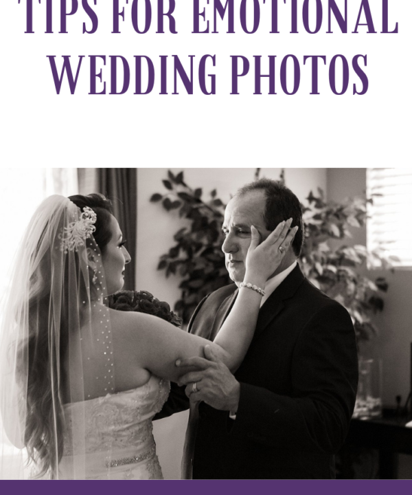 Tips for emotional wedding photos