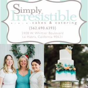 Simply Irresistible Cakes & Catering, Full service event catering in La Habra, CA