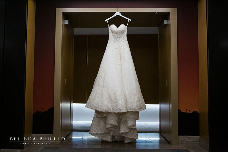 Martina Liana Bridal gown. Los Angeles River Center & Gardens Wedding