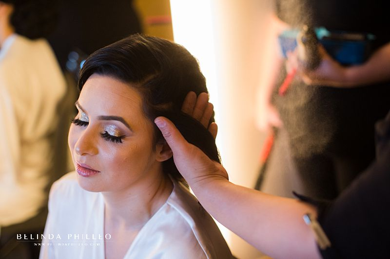 Bridal hairstyles by Maria Palacios