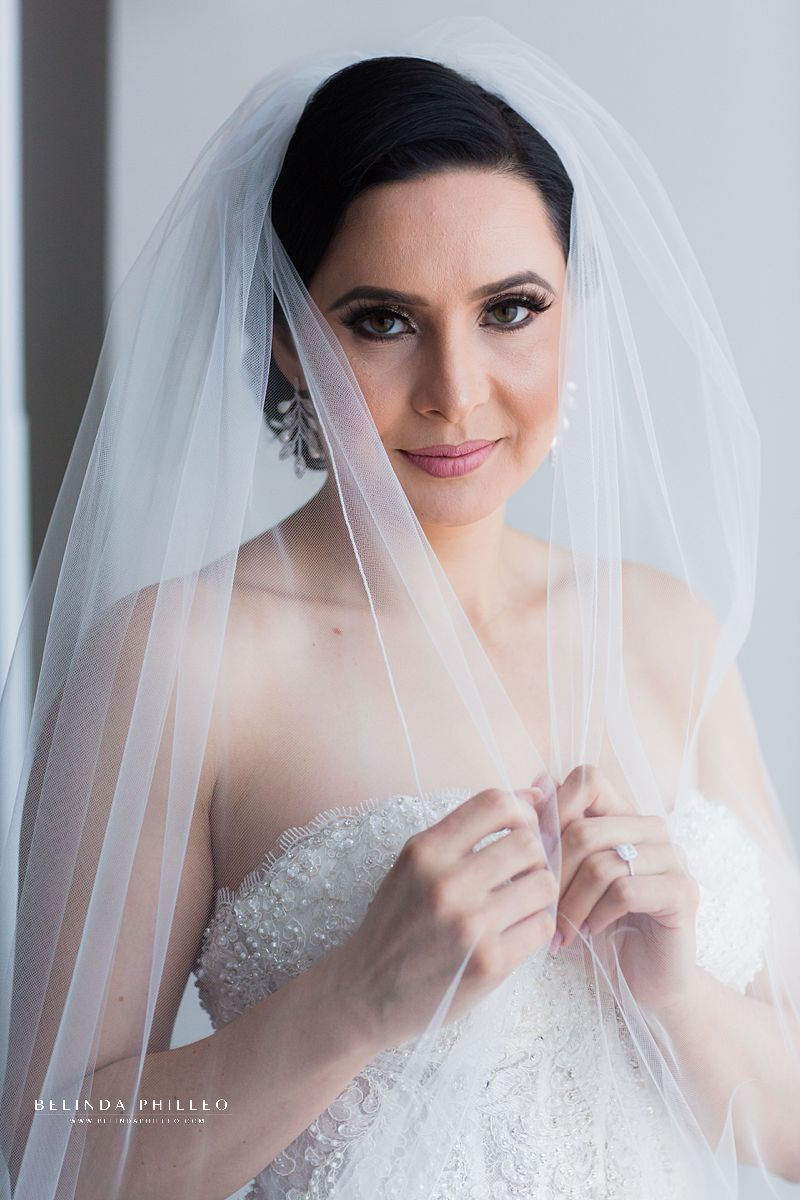 Bridal portrait by Belinda Philleo