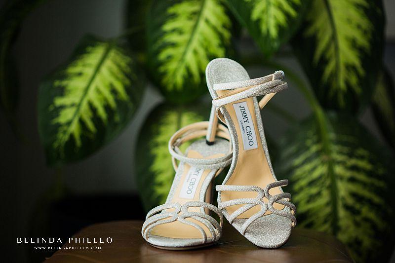 Jimmy Choo Mimi bridal shoes