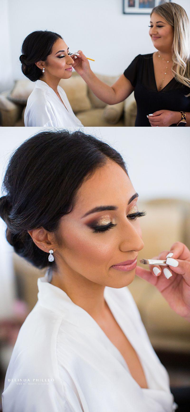 Glamorous bridal makeup in Los Angeles, CA by Makeup by Jackie