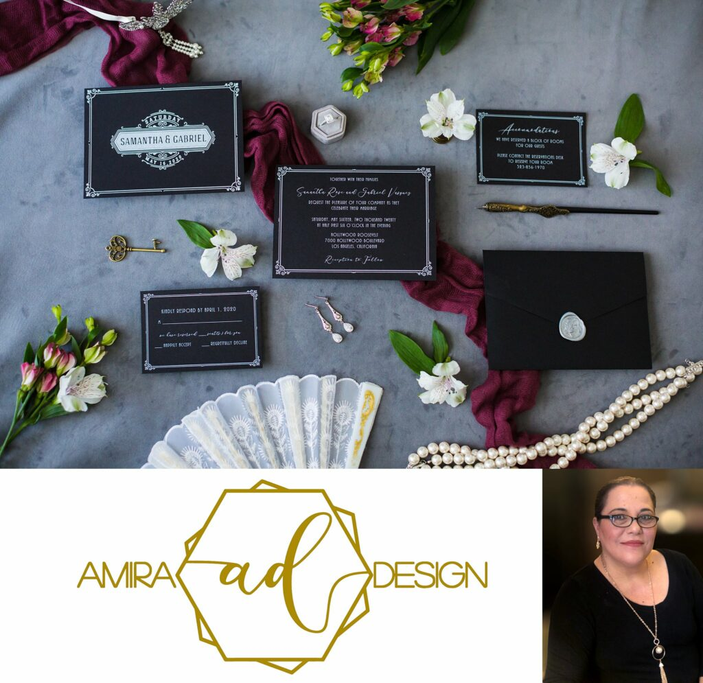 Custom Wedding invitation Timeline & Checklist - Amira Design
