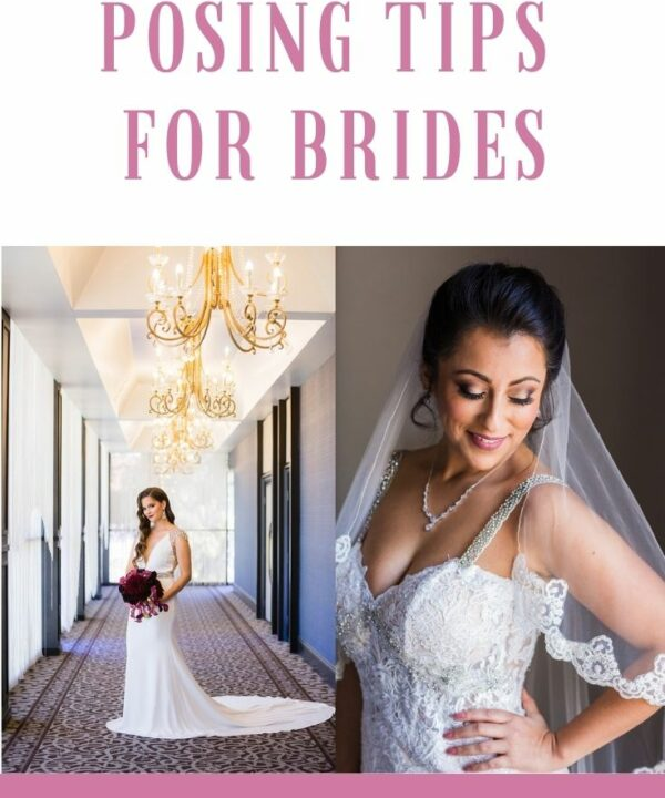 4 posing tips for brides